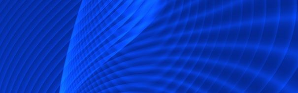 banner of blue gradient