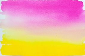 purple yellow watercolour gradient