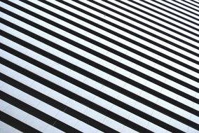 black-and-white striped background