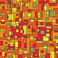 background with colorful overlapping squares