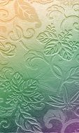 multicolored floral pattern on wallpaper