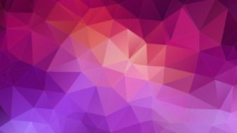 polygons on a purple background