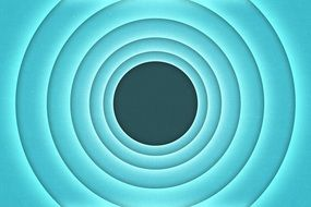 circles in light blue color