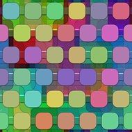 pattern with colorful squares
