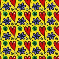 seamless bright colorful pattern