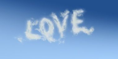 the word love in heaven