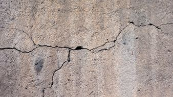 background with cracked concrete wall structure
