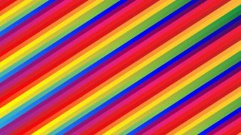 background of rainbow stripes