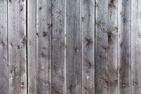 background in the form of gray wooden boards