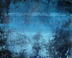background with blue weathered wall texture