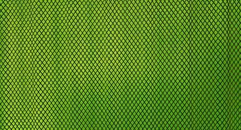 green diamond shaped pattern on the background