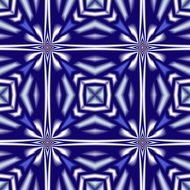 geometric blue white pattern