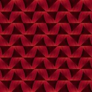 red paper with waves for scrapbooking