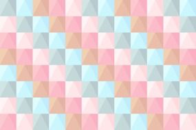 abstract pattern of colored squares