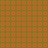 background with ornamental orange pattern