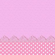 Scrapbook Paper Side Lace