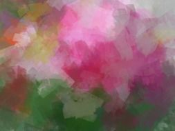 Flower Smeared Tulip Background