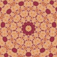 background with abstract symmetrical pattern