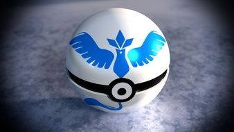 Pokemon Go Pokemon Pokeball Blue