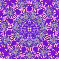 background with purple pink floral pattern