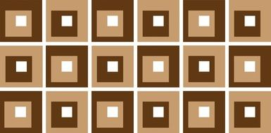 absract white and brown squares