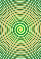background with yellow green swirl