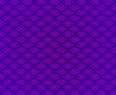 metal grid pattern on a violet background