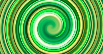 wallpaper with swirl of green and yellow