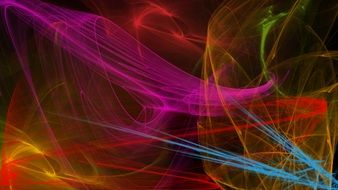 abstract colorful digital art