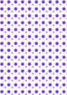 white background with purple dots