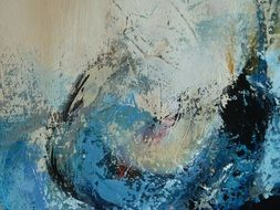 abstract artistic painting