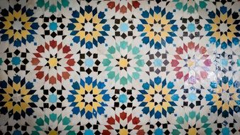 ceramic decorative mosaic