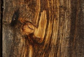 weathered wooden surface