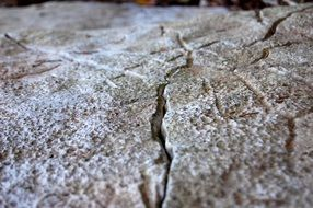 Rock Cracked Crack Fracture