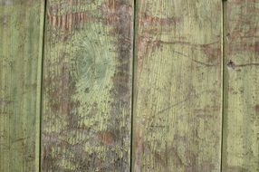 old weathered painted wooden panels
