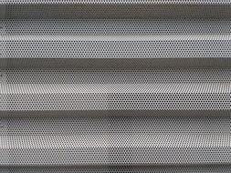 background with perforated metal sheet