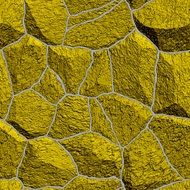 Yellow Stones Pattern Template background