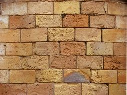 wallpaper with brick wall
