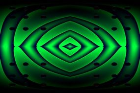 green creative digital art
