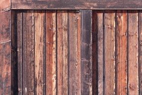 background with old wooden gate structure