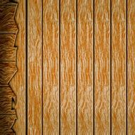 wallpaper with digital wooden structure