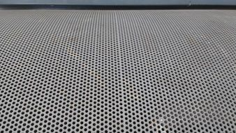 perforated sheet with holes