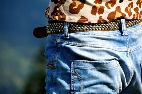 Clothing Belts Pants Jeans