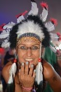 Indian Squaw Woman