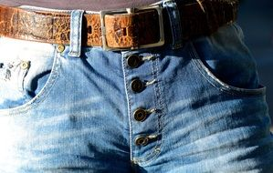 Belts Buckle Jeans Buttons