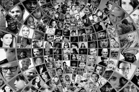photo faces montage
