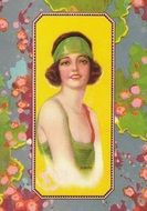 Vintage Flapper Art Collage