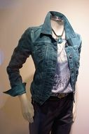 Fashion casual clothing on headless mannequin