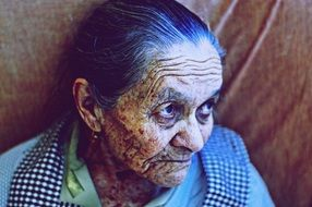 Old Aged woman