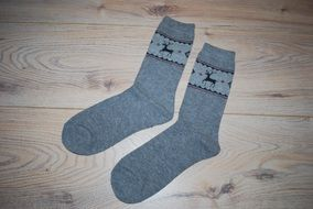 Socks Two Grey